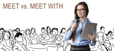 """Perbedaan Dan Contoh Kalimat """"Meet vs Meet With"""" Dalam Bahasa Inggris"""