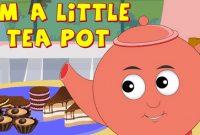 """Lagu Anak """"I am a little Teapot"""" Dalam Bahasa Inggris Beserta Artinya"""