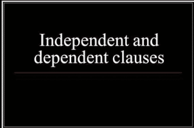 Kumpulan Soal Dependent Dan Independent Clause Beserta Jawaban Lengkap