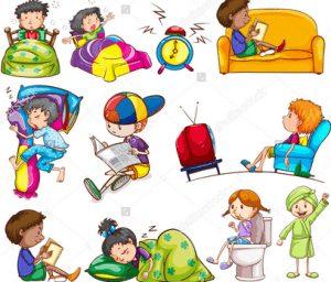 Contoh Penggunaan Present Tense Untuk 'Daily Activity' Dalam Bahasa Inggris