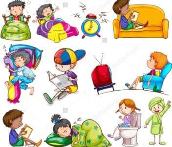 Contoh Penggunaan Present Tense Untuk Daily Activity Dalam Bahasa Inggris