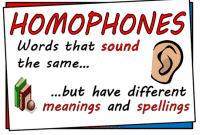 Kumpulan Homophones Dalam Bahasa Inggris Beserta Contoh Kalimat