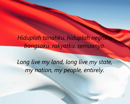 Eyd English Lirik Lagu Indonesia Raya Dalam Bahasa Inggris Paling Lengkap