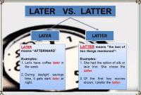 """Perbedaan """"Later vs Latter"""" Dalam Bahasa Inggris Beserta Contoh Kalimat"""