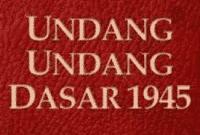Contoh UUD 1945 Dalam Bahasa Inggris Beserta Artinya Lengkap
