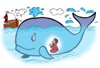 Cerita Nabi Yunus Ditelan Ikan Paus Dalam Bahasa Inggris Beserta Arti Lengkap