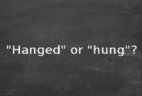 """'Hung vs Hanged"""" : Perbedaan Dan Penggunaan Dalam Bahasa Inggris Lengkap"""