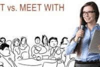 """""""Meet vs Meet With"""" : Perbedaan Dan Contoh Kalimat Dalam Bahasa Inggris"""