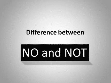 """""""No vs Not"""" : Penggunaan Dan Penjelasan Dalam Bahasa Inggris"""