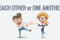 """Perbedaan """"Each Other Dan One Another"""" Dalam Bahasa Inggris Lengkap"""