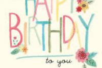 Contoh Lirik Lagu 'Happy Birthday' Dalam Bahasa Inggris